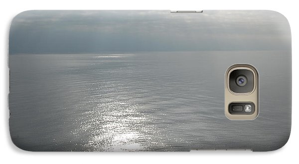 Galaxy Case featuring the photograph Serenity Sea by Linda Prewer