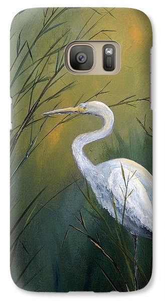Galaxy Case featuring the painting Serenity by Suzanne Theis