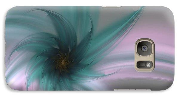 Galaxy Case featuring the digital art Serenity by Svetlana Nikolova