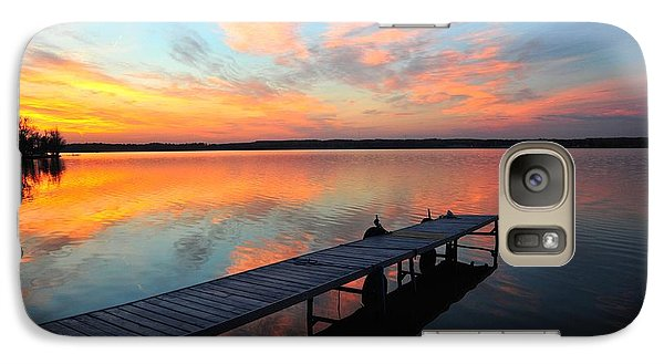 Galaxy Case featuring the photograph Serenity by Terri Gostola