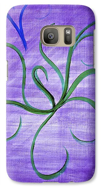 Galaxy Case featuring the painting Serenity by Tracey Myers