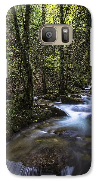 Galaxy Case featuring the photograph Sesin Stream Near Caaveiro by Pablo Avanzini