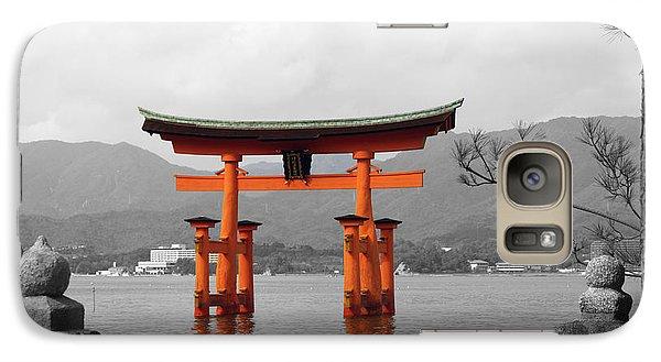 Galaxy Case featuring the photograph Seto Shrine by Cassandra Buckley