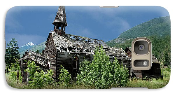 Galaxy Case featuring the photograph Seton Portage Church by Rod Wiens