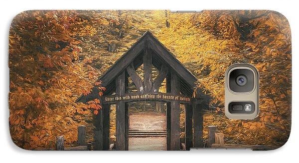 Rolling Stone Magazine Galaxy S7 Case - Seven Bridges Trail Head by Scott Norris