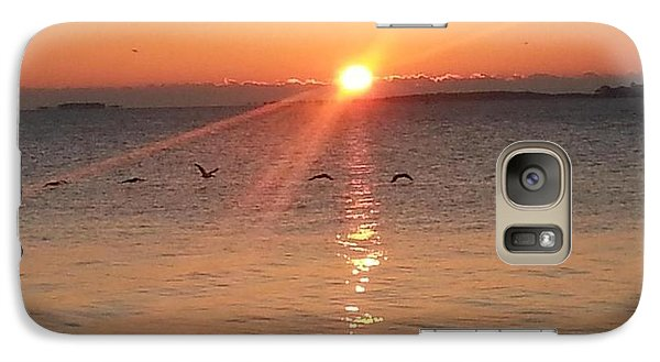 Galaxy Case featuring the photograph Seventh Day With God  by Joetta Beauford
