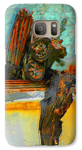Galaxy Case featuring the photograph Severed  by Christiane Hellner-OBrien