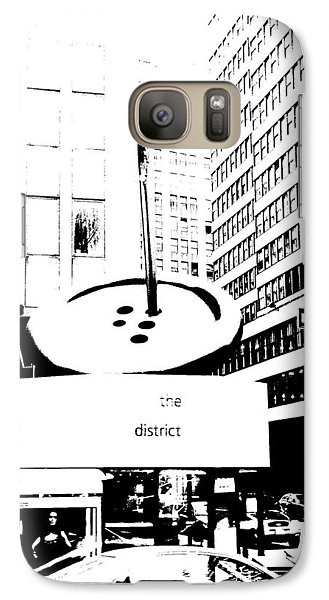Galaxy Case featuring the photograph Sew N Sew - Nyc Fashion District by Cleaster Cotton