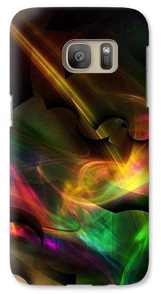 Galaxy Case featuring the digital art Sexual Virtuoso's   by David Lane