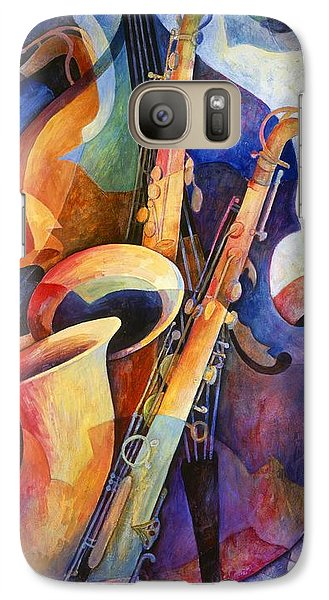 Sexy Sax Galaxy S7 Case by Susanne Clark