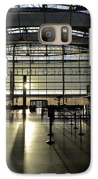 Galaxy Case featuring the photograph Sfo International Terminal From The Inside by Alex King