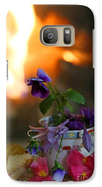 Galaxy Case featuring the photograph Shabby Chic #1 by Kate Purdy