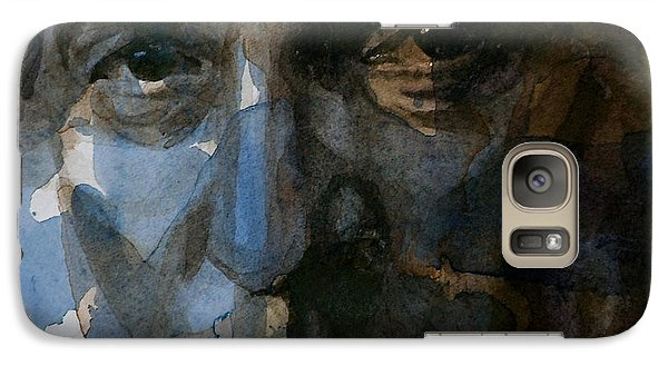 Bruce Springsteen Galaxy S7 Case - Shackled And Drawn by Paul Lovering