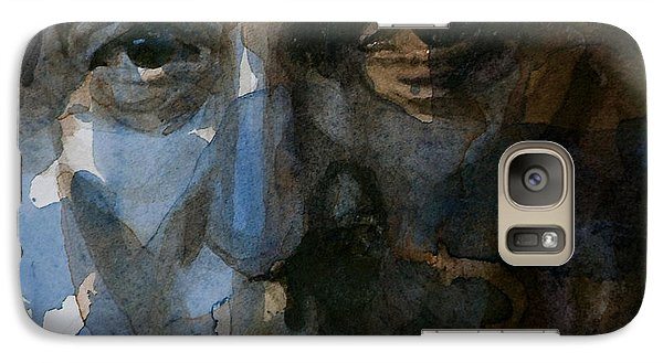 Shackled And Drawn Galaxy Case by Paul Lovering