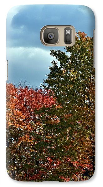 Galaxy Case featuring the photograph Shaded by Judy Wolinsky