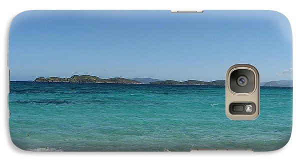 Galaxy Case featuring the photograph Shades Of Blue by Jean Marie Maggi