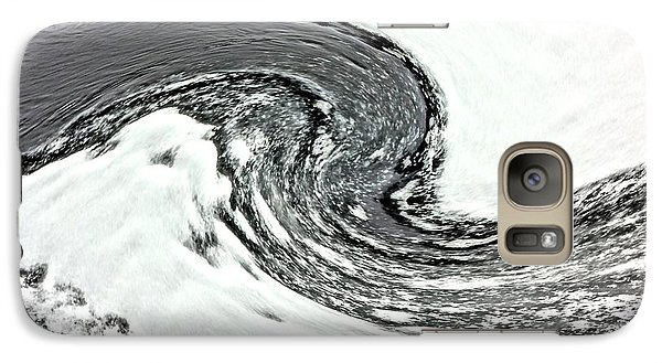 Galaxy Case featuring the photograph Shades Of Cold by Debi Dmytryshyn