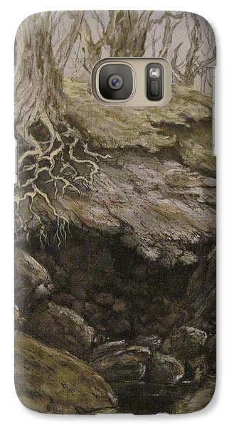 Galaxy Case featuring the painting Shades Of Froud by Megan Walsh