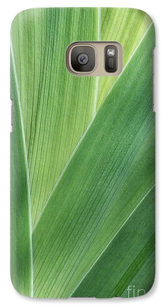 Galaxy Case featuring the photograph Shades Of Green #2 by Judy Whitton