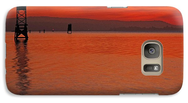 Galaxy Case featuring the photograph Shades Of Orange by Suzy Piatt