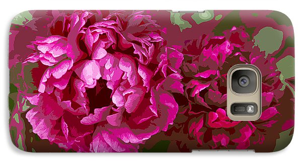 Galaxy Case featuring the photograph Shades Of Pink  by Jeanette French