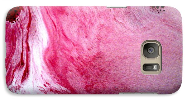 Galaxy Case featuring the painting Shades Of Pink by Salman Ravish