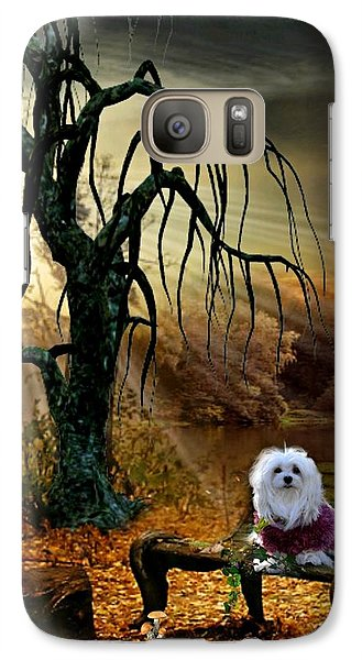 Galaxy Case featuring the photograph Shades Of The Fall  by Morag Bates