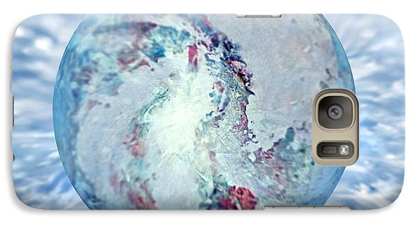 Galaxy Case featuring the painting Shades Of Winter by Robin Moline