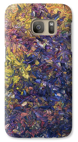 Galaxy Case featuring the painting Shadow Dance by James W Johnson