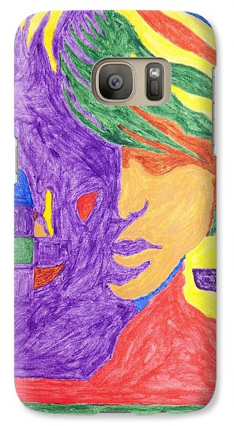 Galaxy Case featuring the painting Prince Gemini   by Stormm Bradshaw
