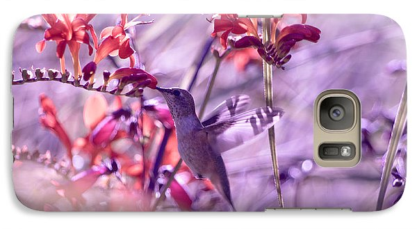 Galaxy Case featuring the photograph Shadow-striped Wings by Adria Trail