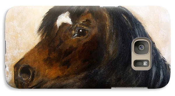 Galaxy Case featuring the painting Shadow by Barbie Batson