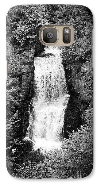Galaxy Case featuring the photograph Shadowed Falls by Paul Cammarata