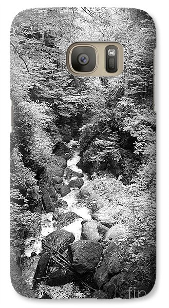 Galaxy Case featuring the photograph Shadowed Stream by Paul Cammarata