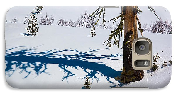 Galaxy Case featuring the photograph Shadowland by Jan Davies