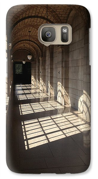 Galaxy Case featuring the photograph Shadows And Stone by Rod Seel