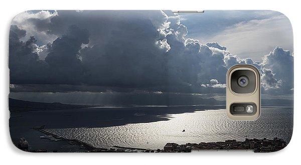 Galaxy Case featuring the photograph Shadows Of Clouds by Georgia Mizuleva