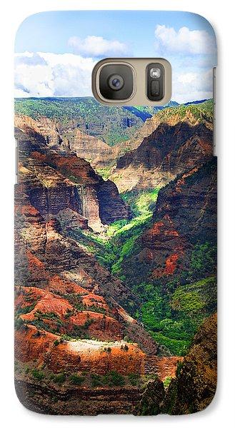 Shadows Of Waimea Canyon Galaxy S7 Case