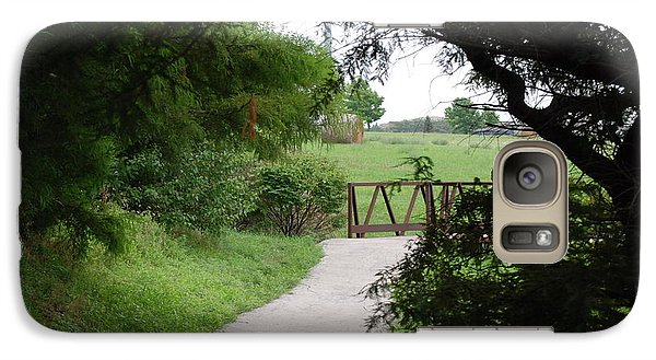 Galaxy Case featuring the photograph Shady Path by Mark McReynolds