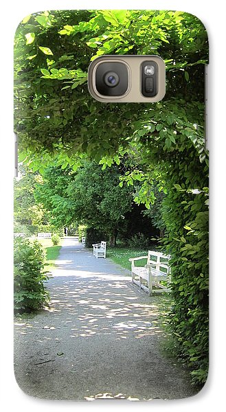 Galaxy Case featuring the photograph Shady Retreat by Pema Hou