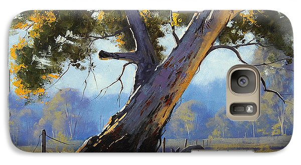 Kangaroo Galaxy S7 Case - Shady Tree by Graham Gercken