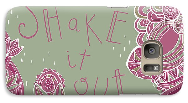 Folk Art Galaxy S7 Case - Shake It Out by Susan Claire