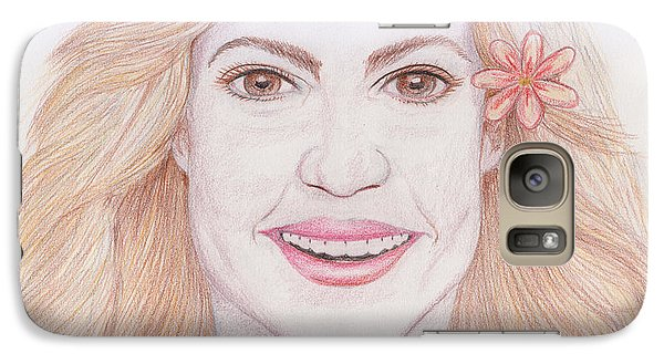 Shakira Galaxy S7 Case by M Valeriano