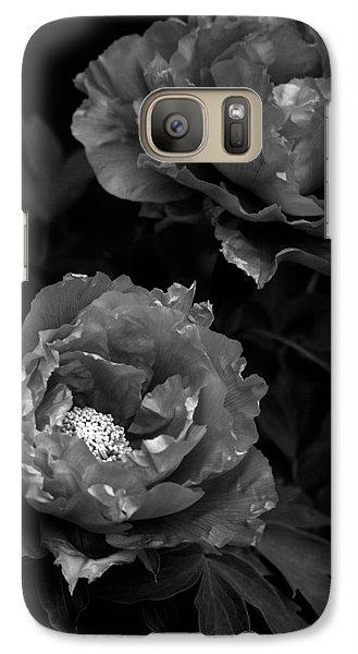 Galaxy Case featuring the photograph Shakuyaku by Rachel Mirror