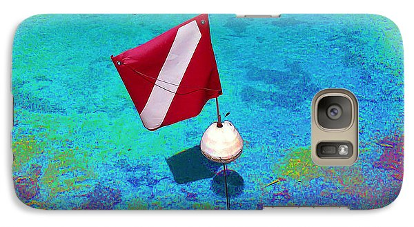 Galaxy Case featuring the photograph Shallow Dive by Steve Sperry