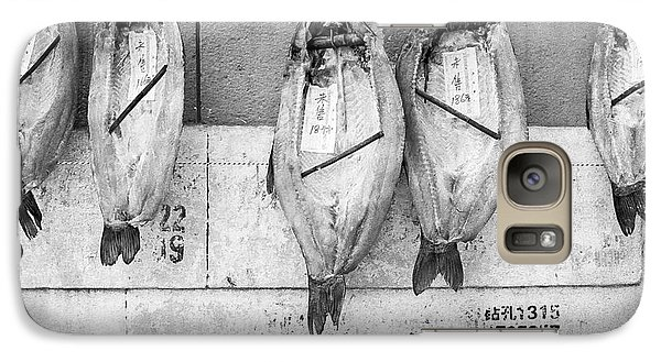 Galaxy Case featuring the photograph Shanghai Fish Drying by Dean Harte