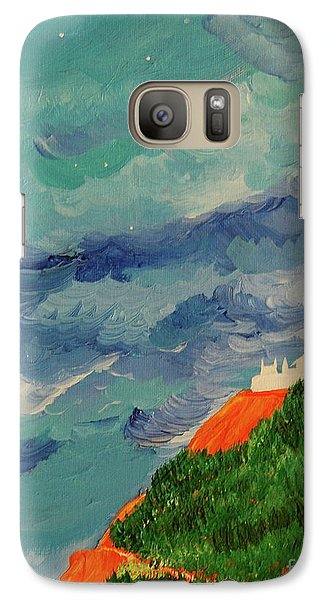 Galaxy Case featuring the painting Shangri-la by First Star Art