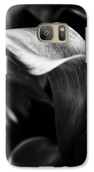 Shapely As A Lily Galaxy S7 Case by Christi Kraft
