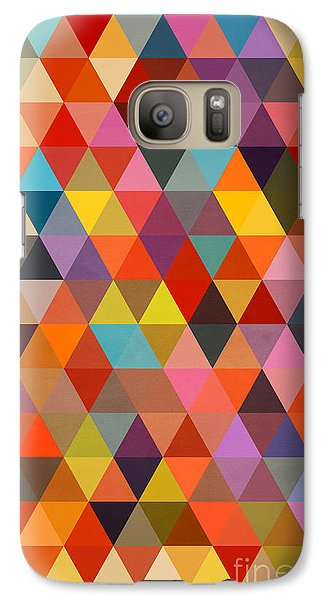 Shapes Galaxy S7 Case by Mark Ashkenazi