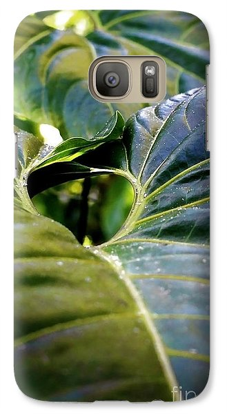 Galaxy Case featuring the photograph Shapes Of Hawaii 11 by Ellen Cotton